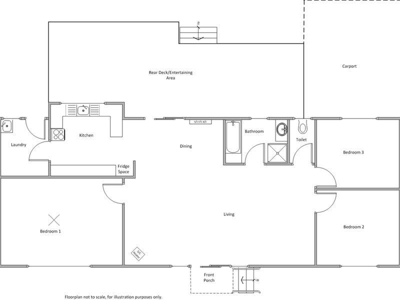 6 Murdoch Crescent, Point Turton, SA 5575 - floorplan