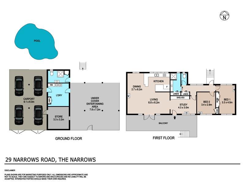 29 Narrows Road, The Narrows, NT 0820 - floorplan