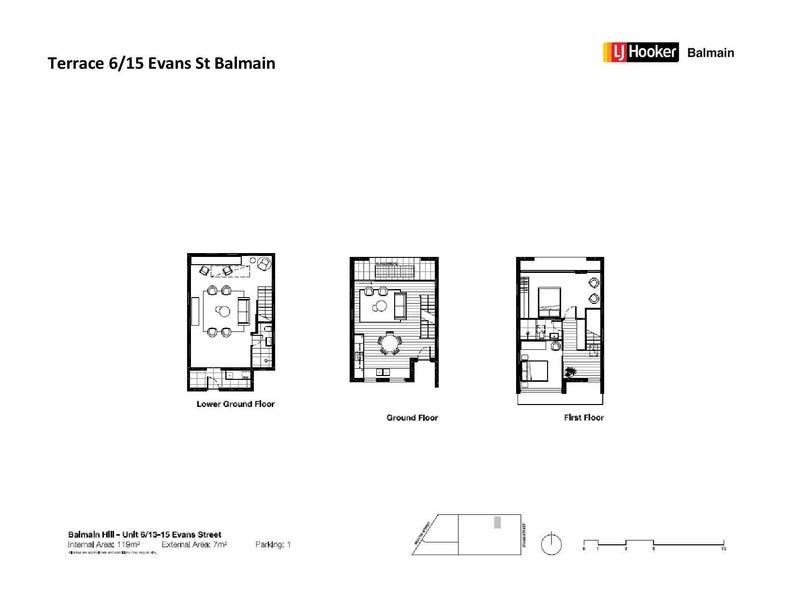 5/15 Evans Street, Balmain, NSW 2041 - floorplan