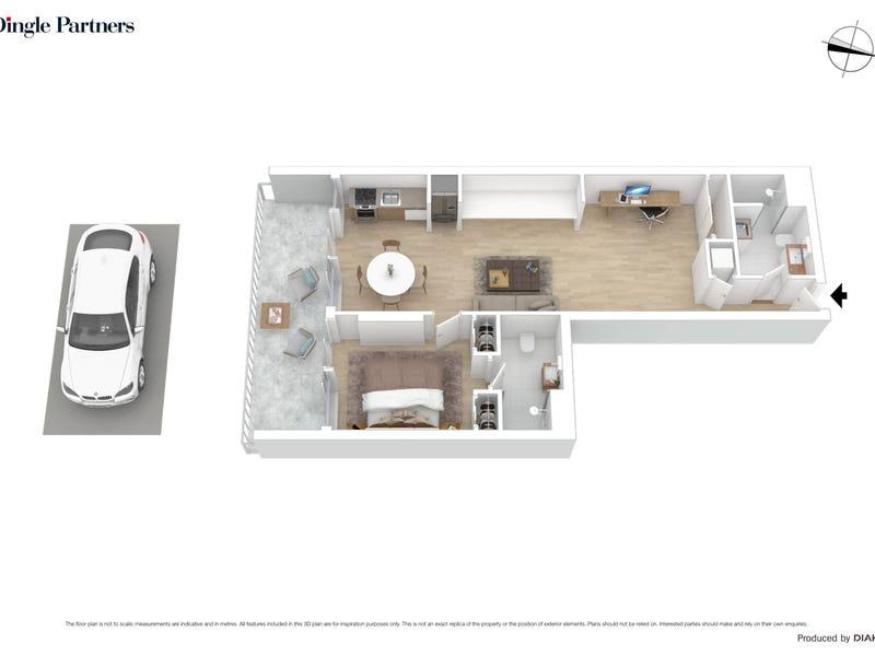 716/555 Flinders Street, Melbourne, Vic 3000 - floorplan