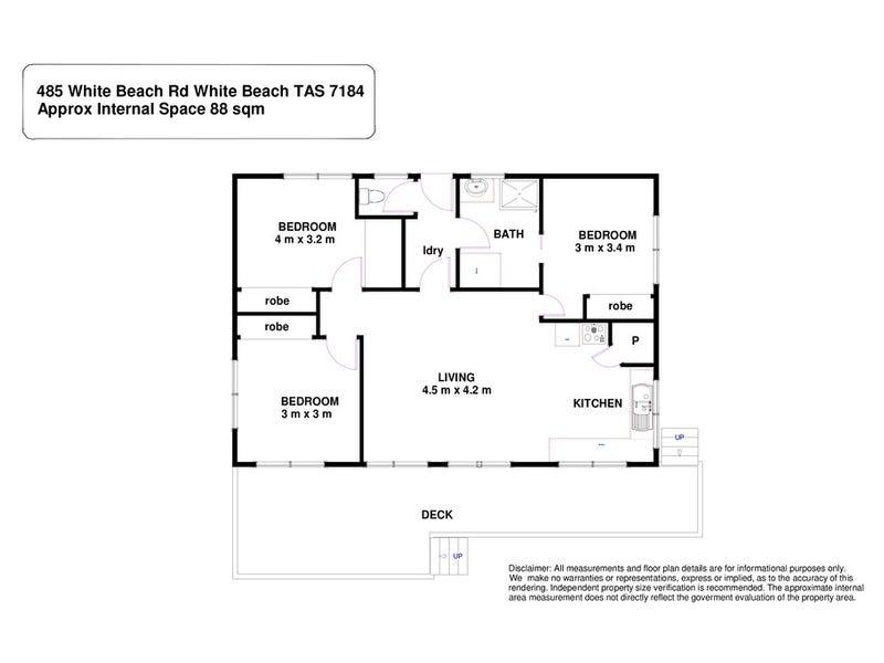 485 White Beach Road, White Beach, Tas 7184 - floorplan