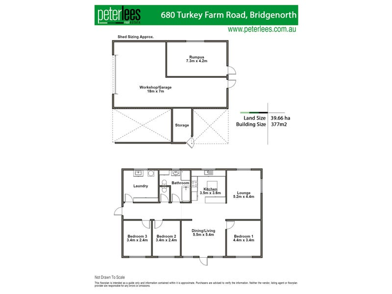 680 Turkey Farm Road, Bridgenorth, Tas 7277 - floorplan