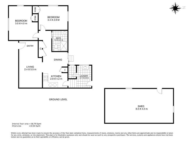 185b Jellicoe Street, Newtown, Qld 4350 - floorplan