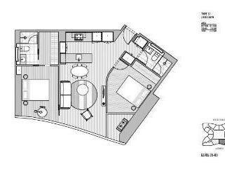 Level 49/224 La Trobe Street, Melbourne, Vic 3000 - floorplan