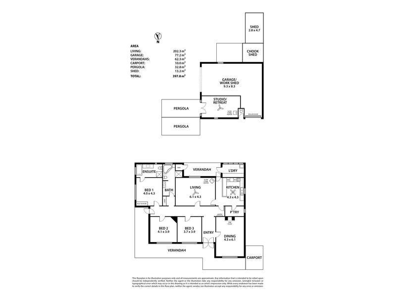 8 August Street, Birdwood, SA 5234 - floorplan