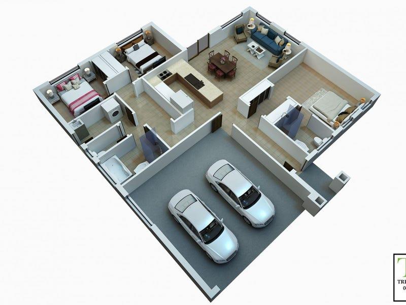 53A or 53B Gaske Lane, Chinchilla, Qld 4413 - floorplan