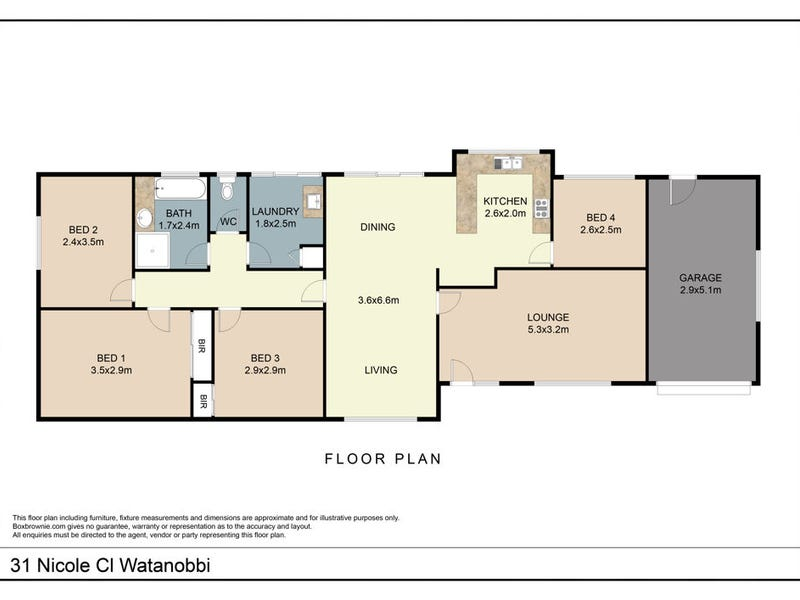 31 Nicole Close, Watanobbi, NSW 2259 - floorplan
