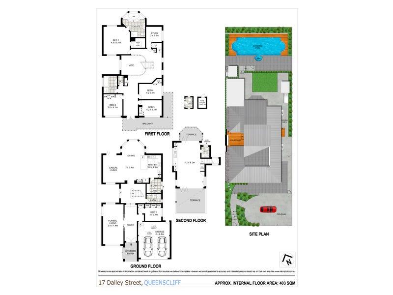17 Dalley Street, Queenscliff, NSW 2096 - floorplan