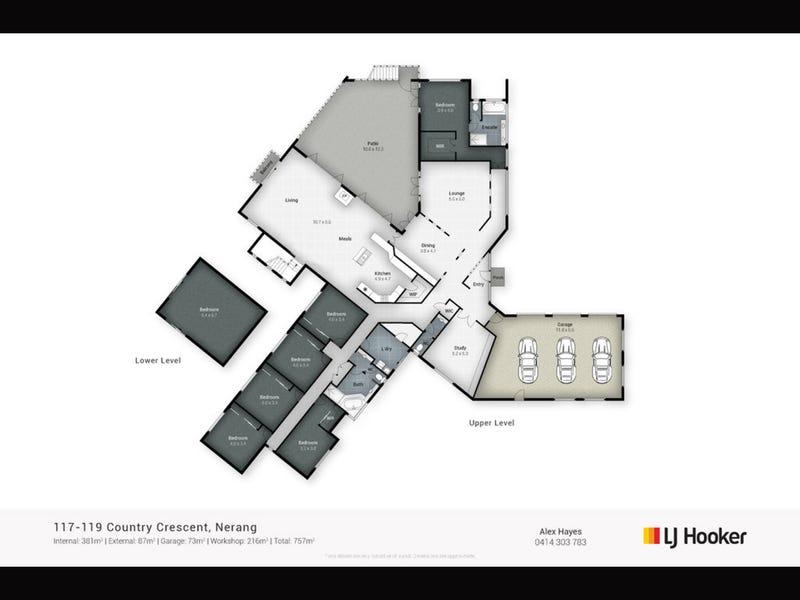 117-119 Country Crescent, Nerang, Qld 4211 - floorplan