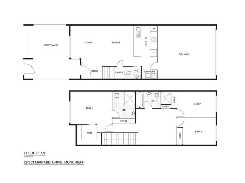 29/363 Mirrabei Drive, Moncrieff, ACT 2914 - floorplan