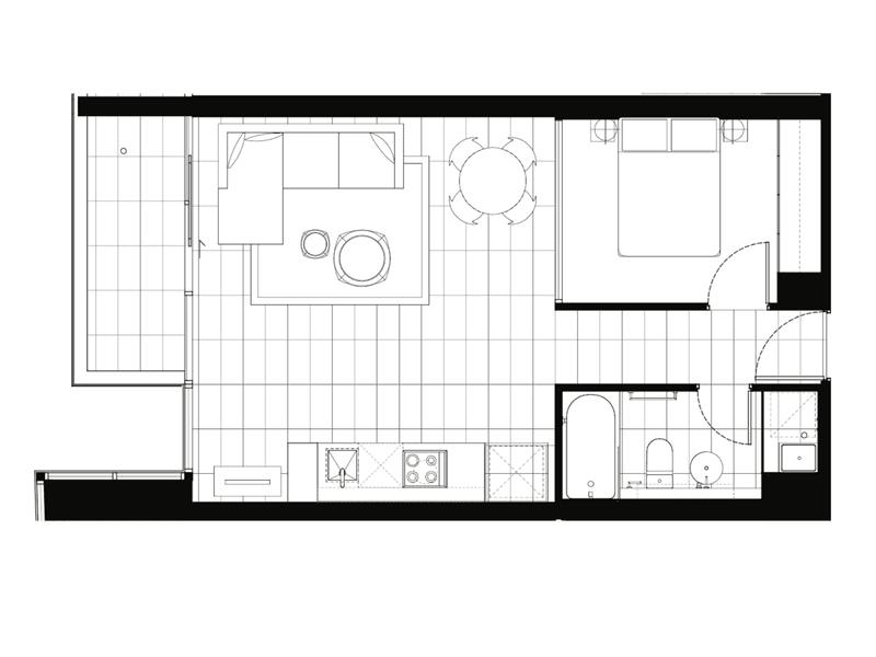 716A 609 Victoria Street, Abbotsford, Vic 3067 - floorplan
