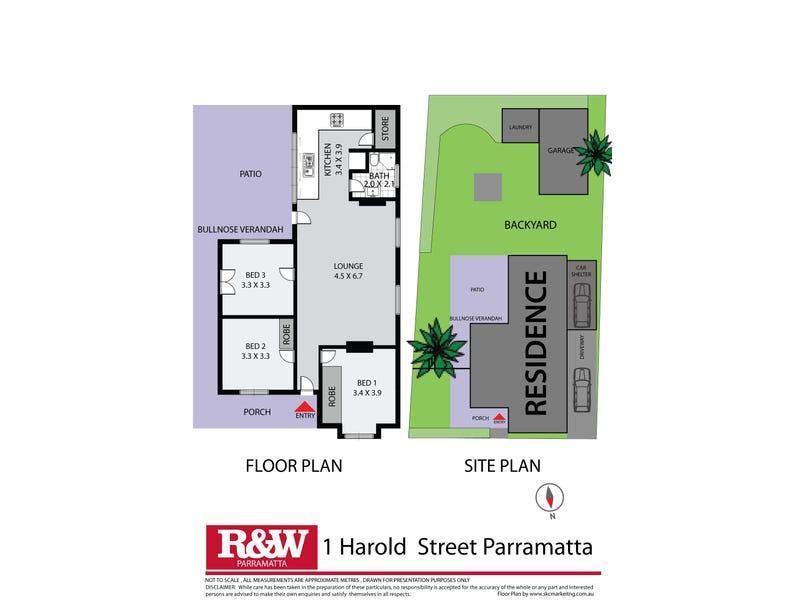 1 Harold Street, Parramatta, NSW 2150 - floorplan