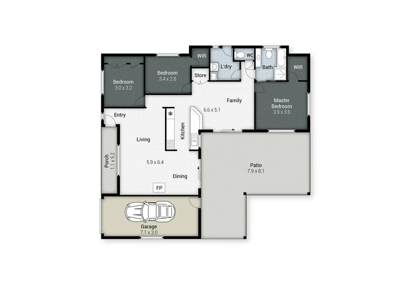 5 Gershwin Court, Nerang, Qld 4211 - floorplan