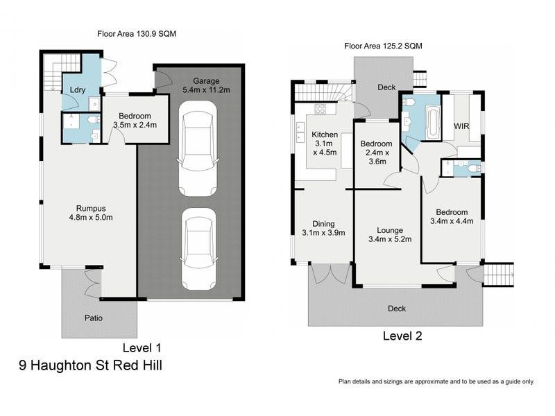 9 Haughton Street, Red Hill, Qld 4059 - floorplan