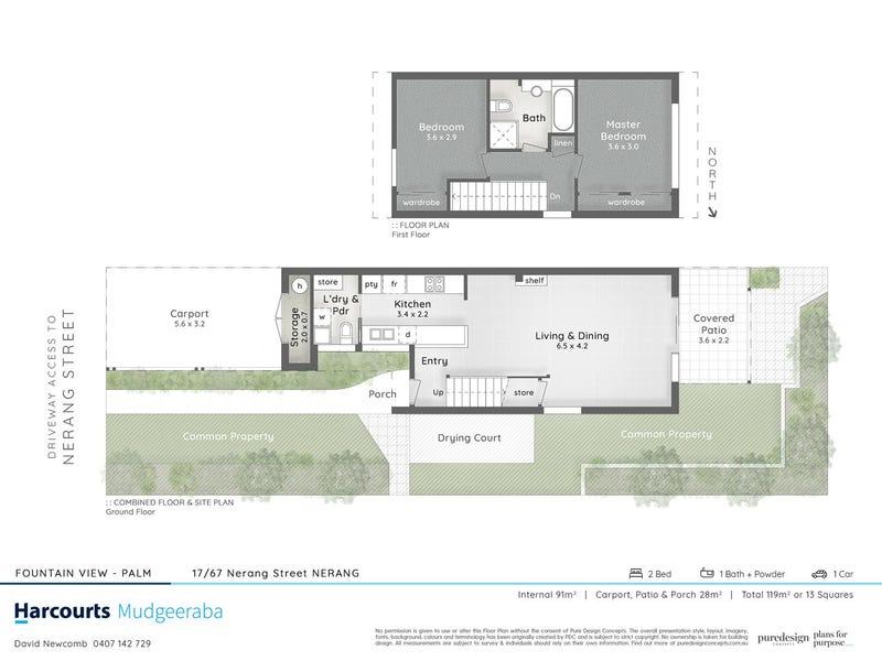 17/67 Nerang Street, Nerang, Qld 4211 - floorplan