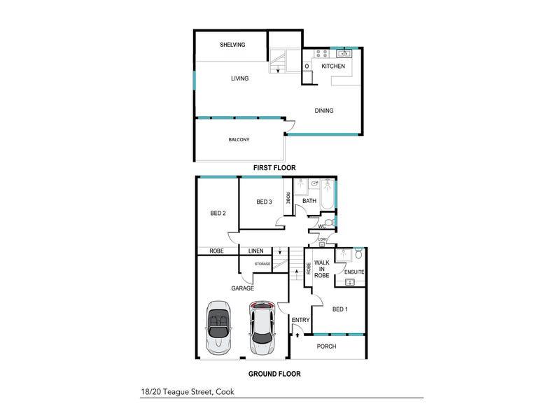 20 Teague Street, Cook, ACT 2614 - floorplan