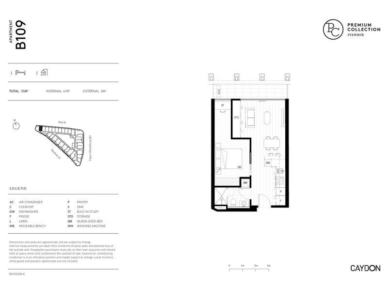 B109/21 Bell Street, Ivanhoe, Vic 3079 - floorplan