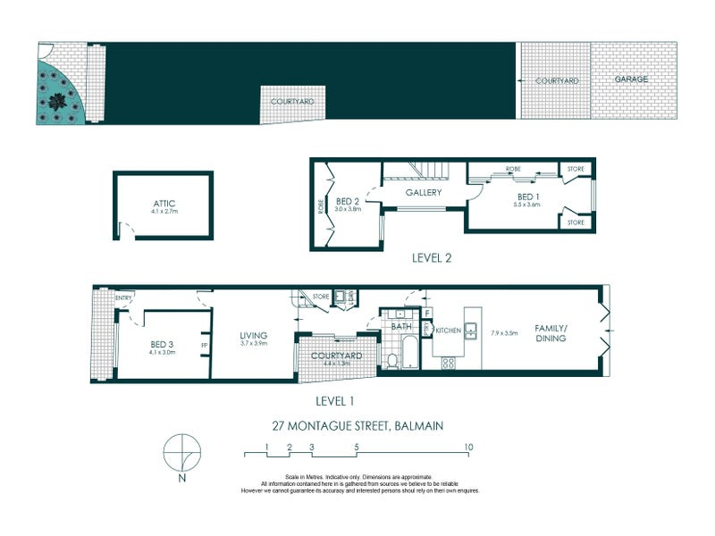 27 Montague Street, Balmain, NSW 2041 - floorplan