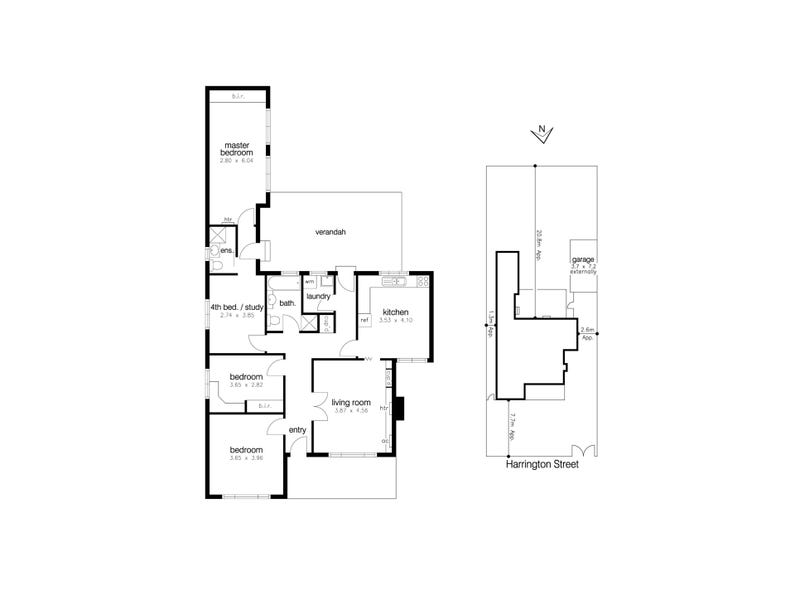 9 Harrington Street, Altona, Vic 3018 - floorplan