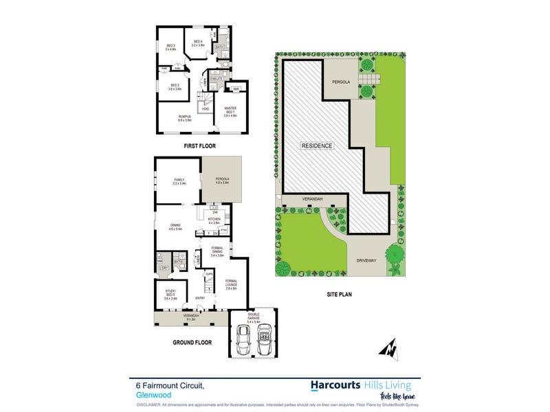 6 Fairmount Circuit, Glenwood, NSW 2768 - floorplan