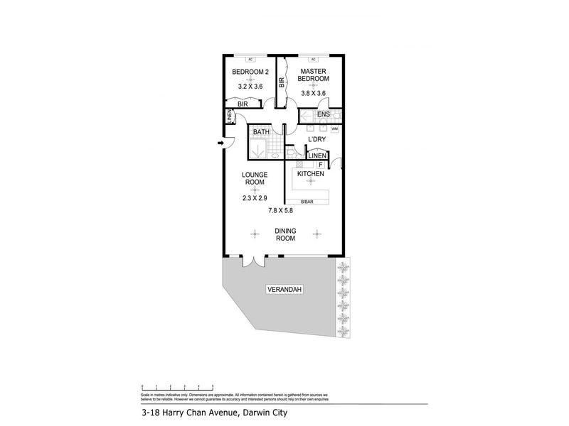 3/18 Harry Chan Avenue, Darwin City, NT 0800 - floorplan