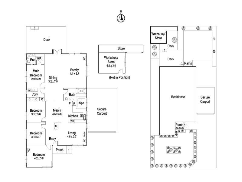 52 Hawker Street, Ivanhoe, Vic 3079 - floorplan