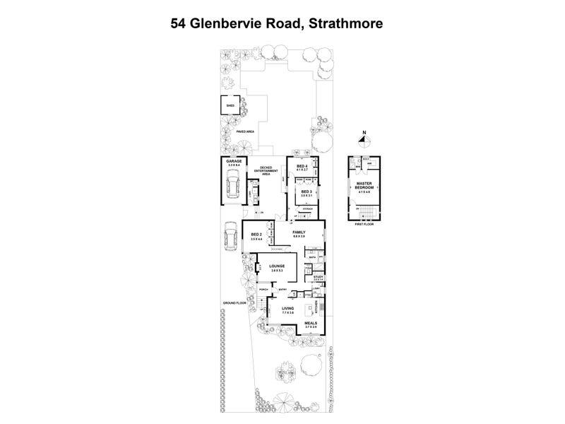 54 Glenbervie Road, Strathmore, Vic 3041 - floorplan