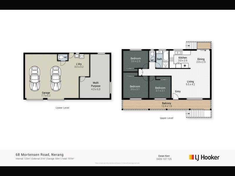 68 Mortensen Road, Nerang, Qld 4211 - floorplan