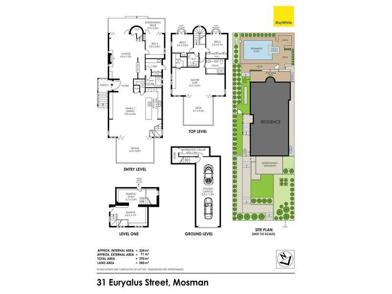 31 Euryalus Street, Mosman, NSW 2088 - floorplan