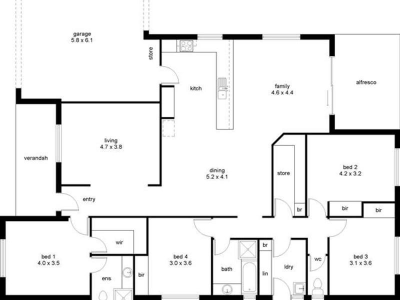 49 Carramup Circle, Port Kennedy, WA 6172 - floorplan