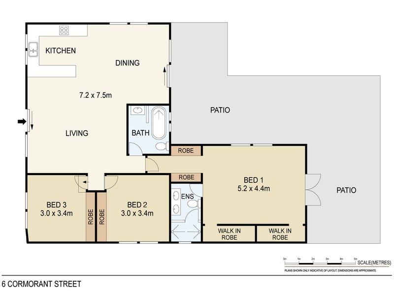 6 Cormorant Street, Bakewell, NT 0832 - floorplan