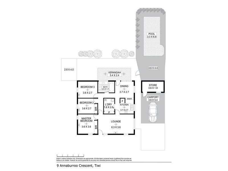 9 Annaburroo Crescent, Tiwi, NT 0810 - floorplan