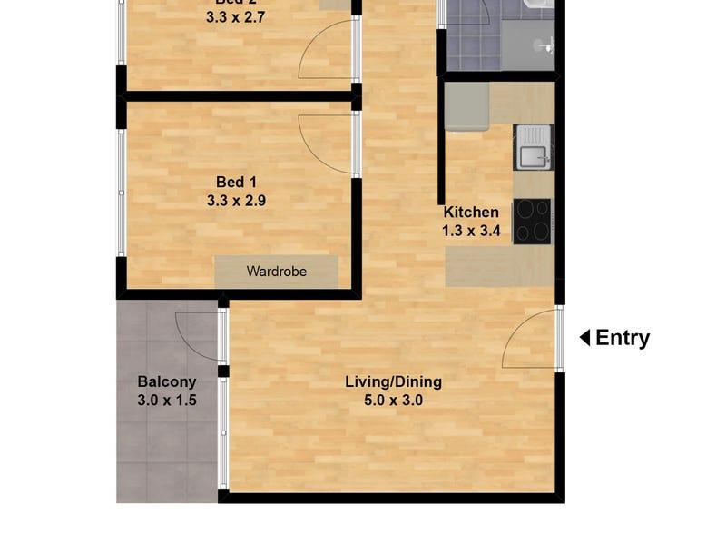 604/34 WENTWORTH STREET, Glebe, NSW 2037 - floorplan