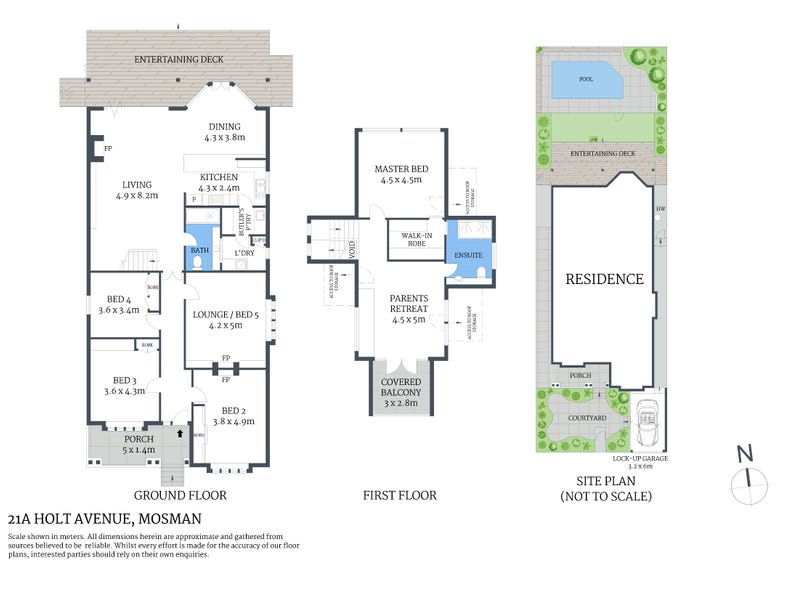 21A Holt Avenue, Mosman, NSW 2088 - floorplan