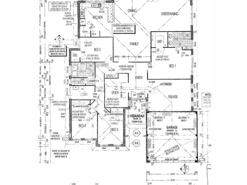 18 Whitehart Entrance, Aveley, WA 6069 - floorplan