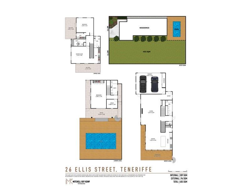 26 Ellis Street, Teneriffe, Qld 4005 - floorplan