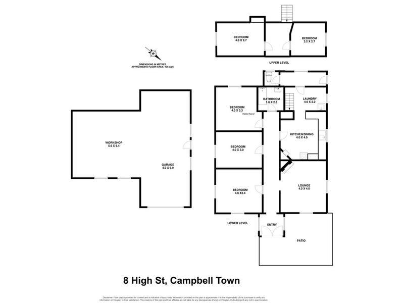 8 High Street, Campbell Town, Tas 7210 - floorplan