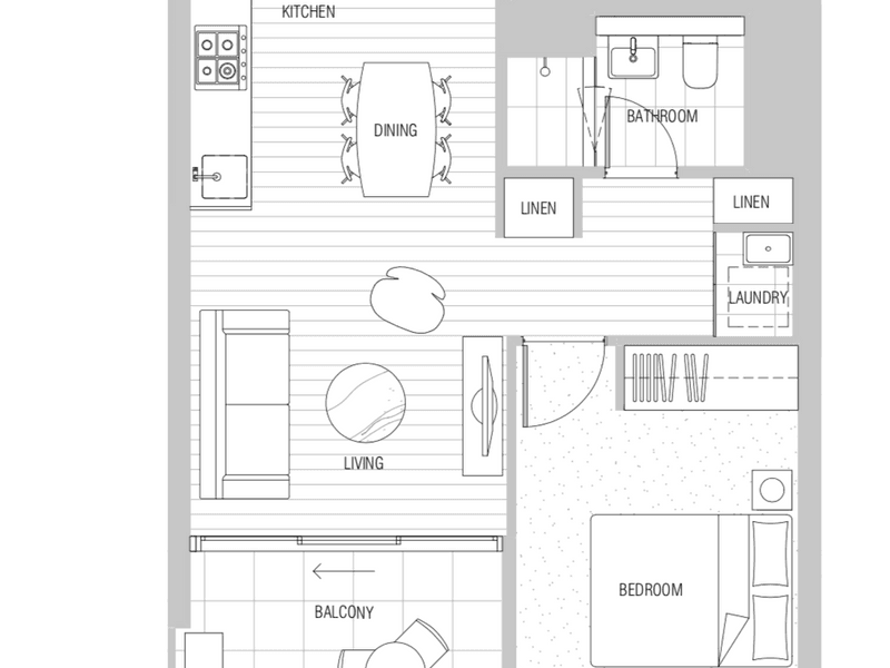 Melbourne, address available on request - floorplan
