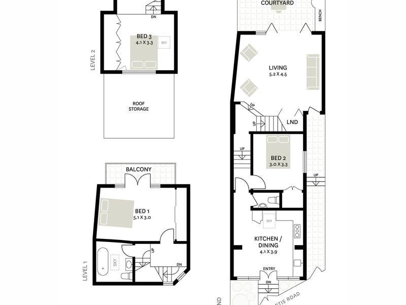107 Curtis Road, Balmain, NSW 2041 - floorplan