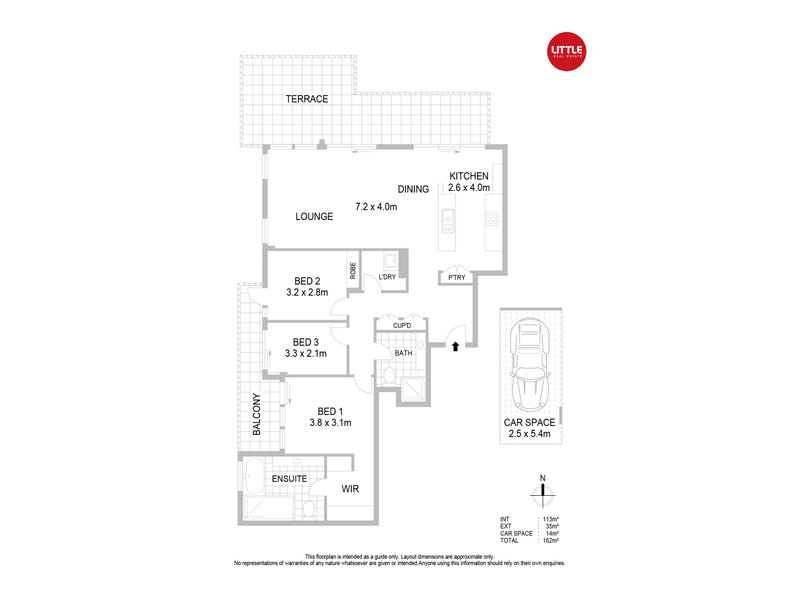 40/1 Day Street, Chatswood, NSW 2067 - floorplan