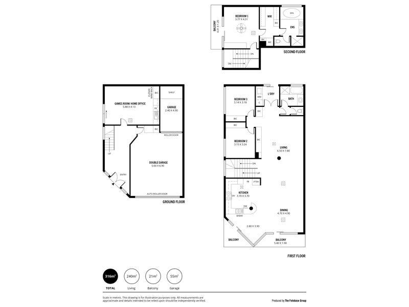 13 Fulton Crescent, Glen Osmond, SA 5064 - floorplan