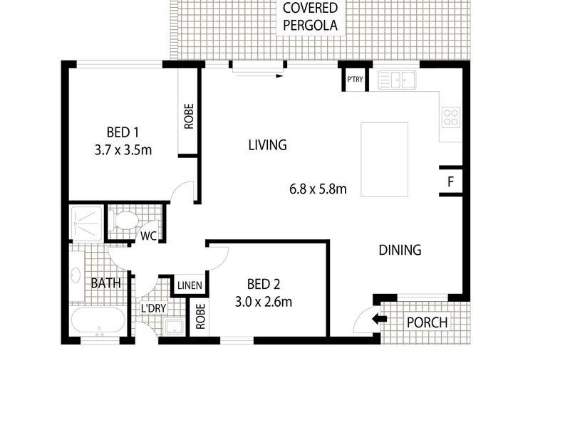 3/23 Bollard Street, Palmerston, ACT 2913 - floorplan