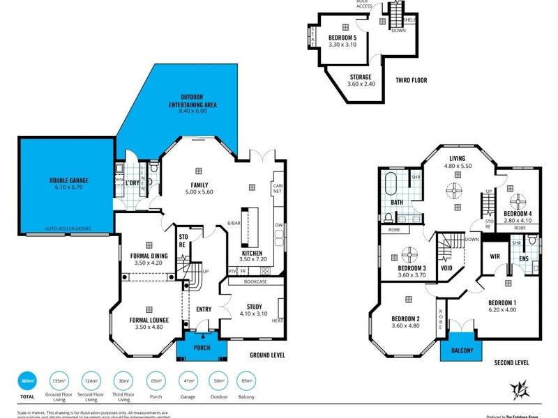 6 Teal Court, Flagstaff Hill, SA 5159 - floorplan
