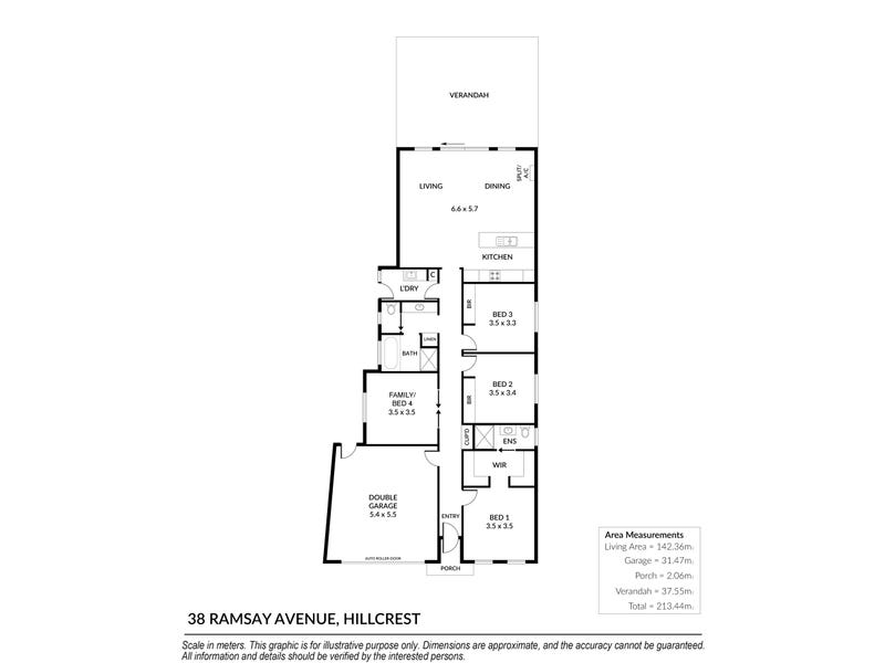 38 Ramsay Avenue, Hillcrest, SA 5086 - floorplan