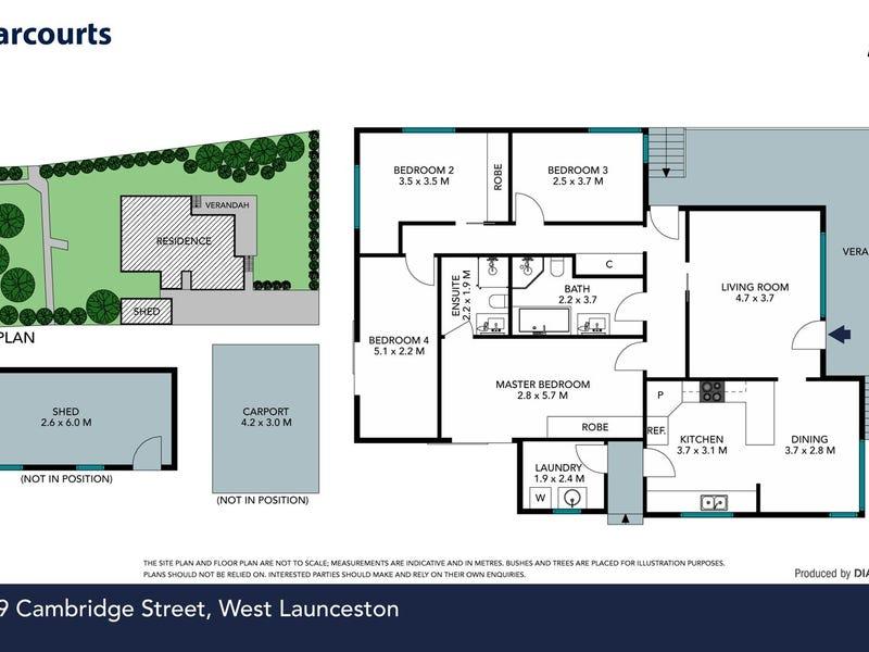 119 Cambridge Street, West Launceston, Tas 7250 - floorplan
