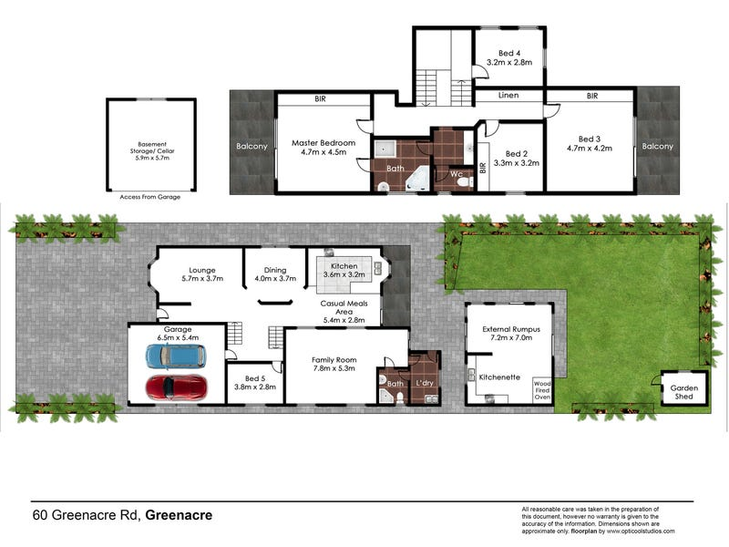 60 Greenacre Road, Greenacre, NSW 2190 - floorplan