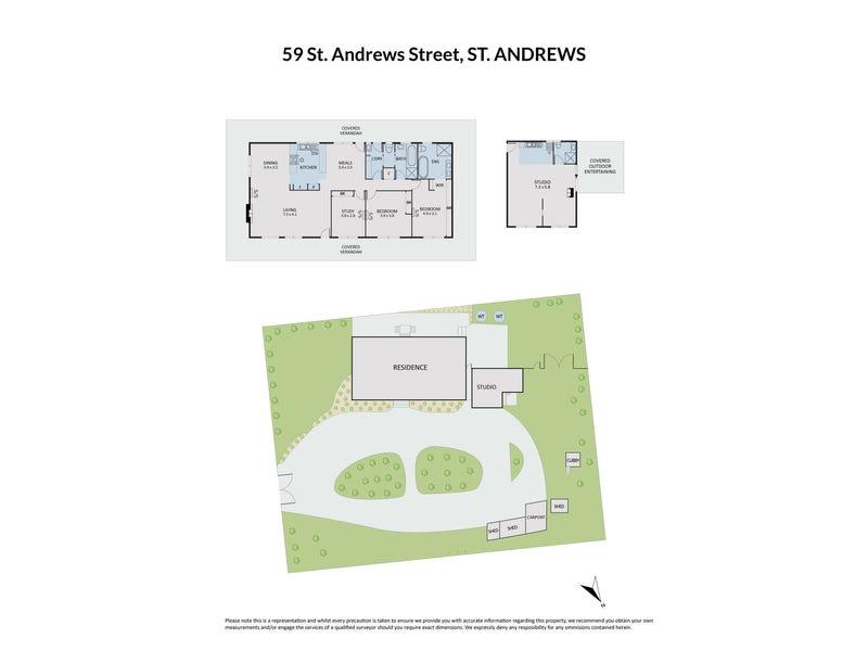 59 St Andrews Street, St Andrews, Vic 3761 - floorplan