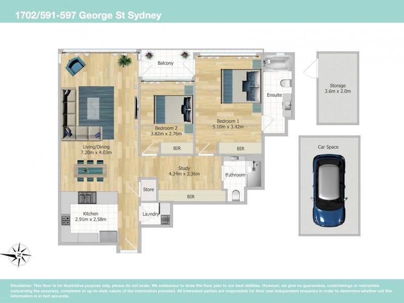 591 George St, Sydney, NSW 2000 - floorplan