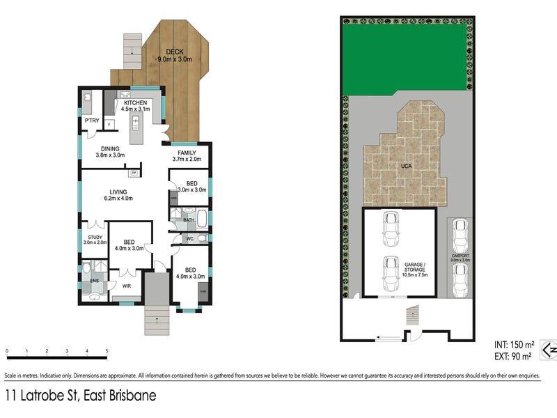 11 Latrobe Street, East Brisbane, Qld 4169 - floorplan