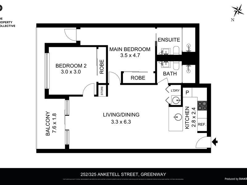 252/325 Anketell Street, Greenway, ACT 2900 - floorplan